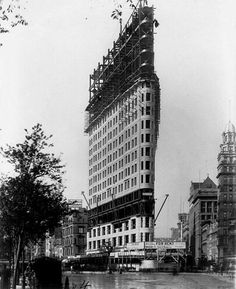 8 images of NYC in the early 1900s: The Flatiron Building | MNN - Mother Nature Network