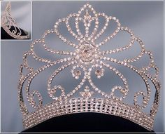 Rapture Royal Queen Crown Wedding Full Circle Miss Universe Pageant Tiaras And Crowns Bride Diadem Hair Jewelry Baroque Bridal Hot Sale Buy One Get One Free Hair Jewelry
