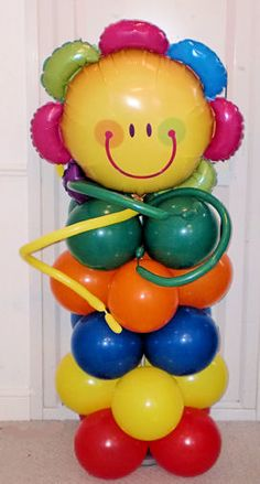 Balloon Columns & Balloon Arches PARTY BUDS Professional Balloon Decorators