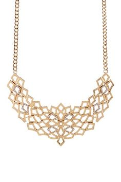 Nikolette Crystal Necklace by Olivia Welles on @HauteLook
