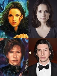Rey and Kylo Ren could they possibly be a revised version of Jaina and Jacen Solo?