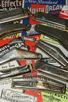Boomerangs by mouthorganman, via Flickr