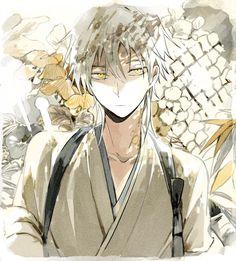 touken ranbu and tsurumaru kuninaga image Manga Anime, Boys Anime, Hot Anime Guys, Cute Anime Boy, Manga Boy, I Love Anime, Anime Art, Anime Angel, Touken Ranbu