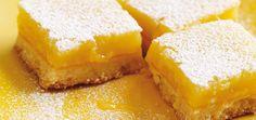 Carrés au citron Recettes | Ricardo