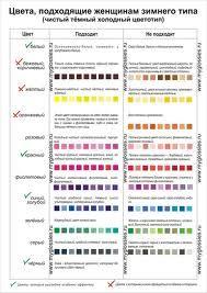 цвет глаз для цветотипа зима - Поиск в Google