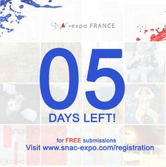 #5daystogo for FREE submissions! #earlybirds Visit www.snac-expo.com/registration #artistes #frenchartists #artcall #artistesfrancais #concoursdart #beauxarts #paris #france
