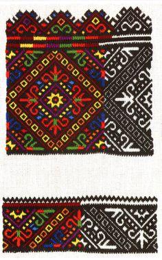 Nyzynka embroidery of western Ukraine        Pisanki inspiration