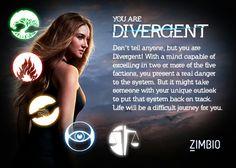 Shhh!! I am divergent