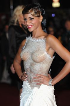 Shy'm NRJ Music Awards 2012 - Red Carpet Arrivals