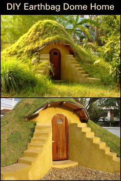 This cool earthbag dome home looks like it came out of a certain fantasy series but would you believe me if I told you that you can have this in your own backyard?   There are many reasons why you should consider building with earth bags and one of them is that it has great insulation!  You can use yours as a cool getaway in the summer or a warm escape in the winter. Learn how to make your own earthbag home and the benefits that come with them on our site! Natural Building, Green Building, Outdoor Gazebos, Outdoor Structures, Sustainable Architecture, Residential Architecture, Contemporary Architecture, Earth Bag Homes, Caribbean Homes