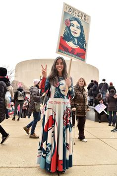 70 of the best images from the 2017 Women's March on Washington: