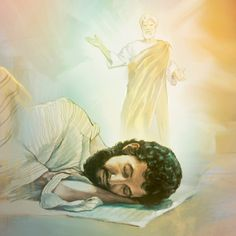 Jehovah's angel appears to Joseph in a dream