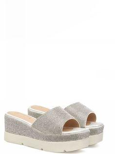 8b958b220a2a Sequin Platform Sandals. Gladiator Sandals