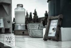 Barra de bebidas vintage / WEPlanners