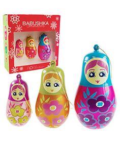 Russian Doll Ornaments, $21.00