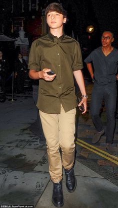 Look how cute Paul McCartney's grandson is...