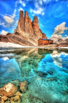 King Laurinos Tower's, Dolomites, Italy