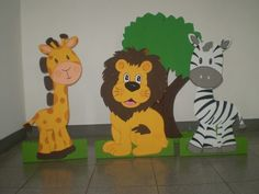 Como hacer figuras en foami para bebés - Imagui Safari Party Favors, Safari Theme Birthday, Baby Birthday, Jungle Theme, Vbs Crafts, Preschool Crafts, Fall Crafts, Diy And Crafts, Crafts For Kids