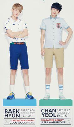 Baekhyun & Chanyeol for Ivy Club