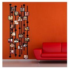 Family Tree Kadife Duvar Sticker Foto Blok | Duvar Stickerları | Sonsuz Dekorasyon