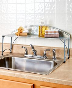 22 best over sink shelf images over sink shelf shelf shelves rh pinterest com