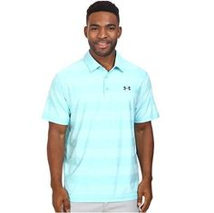 Under Armour Mens HeatGear Loose Fit Playoff Tweed Short Sleeve Polo Shirt