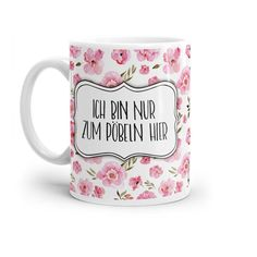 Ceramic Cups, White Ceramics, Pink Blue, Best Gifts, Sayings, Tableware, Lilac, Stressed Out, Stupid