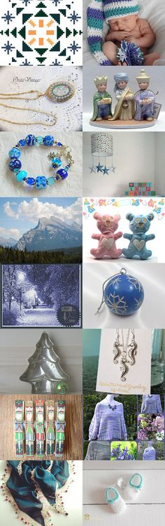 Cool Christmas by Rhian on Etsy--Pinned with TreasuryPin.com