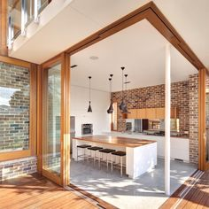 Architecture, Stylish Australian House: The Contemporary Open Kitchen
