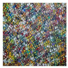 "Quest Products Inc 'Flowers' by Kelvin Henderson Painting Print on Wrapped Canvas Size: 30"" H x 30"" W"