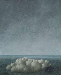 René Magritte - Le Chant de 'l Orage (Song of the Storm), 1937. More At FOSTERGINGER @ Pinterest