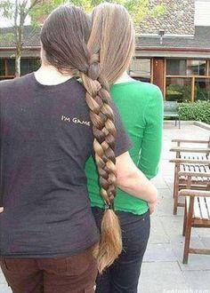 braiding together