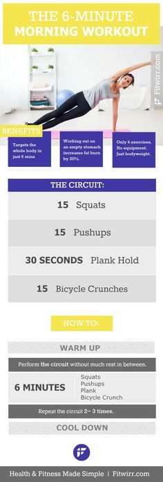 The quickest morning workout routine. #morningworkout #circuitworkout #exercise