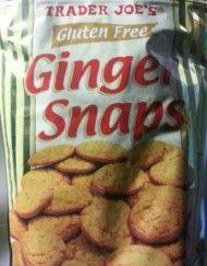 Trader Joe's Gluten Free Ginger Snaps (8 Oz.) Gluten Free Sugar Cookies, Snack Recipes, Snacks, Trader Joe's, Ginger Snaps, Chips, Food, Snack Mix Recipes, Appetizer Recipes