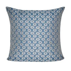 Loom and Mill Polka Dot Indoor Outdoor Throw Pillow (870 MAD) ❤ liked on Polyvore featuring home, outdoors, outdoor decor, blue, polka dot outdoor pillows, blue outdoor pillows, indoor outdoor throw pillows and indoor outdoor pillows