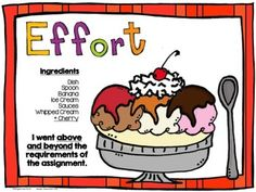 Effort Rubric Posters {Student Self-Assessment}
