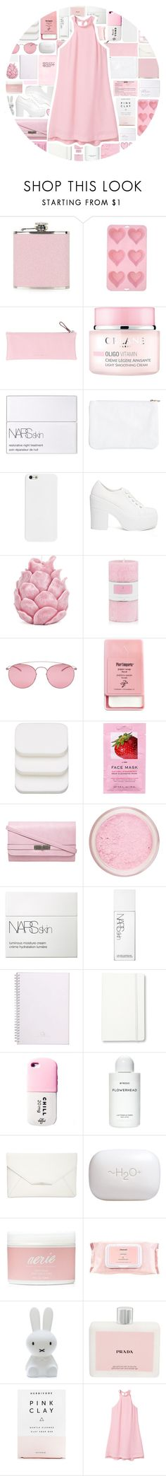 """""""Halter Dress"""" by stelbell ❤ liked on Polyvore featuring Topshop, CO, Giorgio Fedon 1919, NARS Cosmetics, Shellys, Zara Home, Maison Margiela, Pier 1 Imports, COVERGIRL and H&M"""