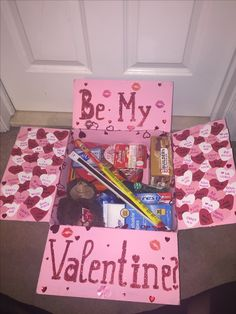 Deployment Care package, DIY, Valentine's Day Care Package, Deployment Gift