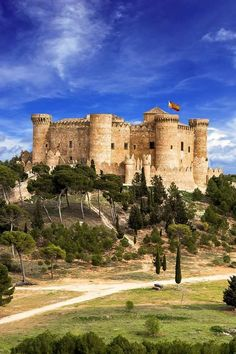 Castillo de Belmonte,Cuenca