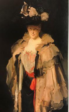 Mrs Charles Hunter painted by John Singer Sargent