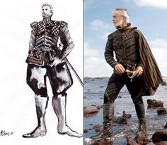"""costumefilms: """"The Tempest - Helen Mirren as Prospera, Chris Cooper as Antonio, David Strathairn as Alonso, Tom Conti as Gonzalo, Alan Cumming as Sebastiano. Actor David Strathairn didn't just show up on set for his scenes – he also spent two. Costume Design Sketch, Best Costume Design, Theatre Costumes, Cool Costumes, Costume Ideas, Shakespeare, The Young Victoria, Sandy Powell, Halloween Costume Patterns"""