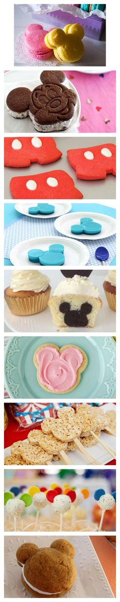 These Mickey Mouse inspired treats are delicious and adorable!