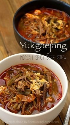 Hi guys! Im finally sharing Yukgaejang- Korean Spicy Beef Stew Recipe!! I've revived a lot of requests for this recipe last couple of years. I was waiting for the perfect moment to share this recipe and today is the day! Yukgaejang is perfect for cold weather, but it is also very popular menu during summer...Read More »