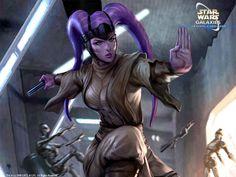 Star Wars Female Jedi | Visit artgerm.deviantart.com
