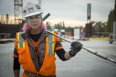 Calling Skilled Tradeswomen: Uncle Sam Wants You - Careers in Government Welding Schools, Electrician Work, Career Inspiration, Rosie The Riveter, Guys Be Like, Working Woman, Work Wear, Female