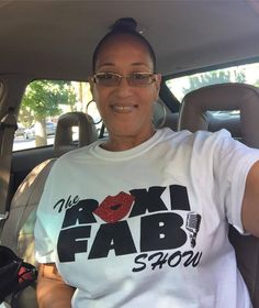 My friend and listener Sylvia, all the way in California! Radio Personality, All The Way, California, Cute, Tops, Women, Fashion, Moda, Fashion Styles