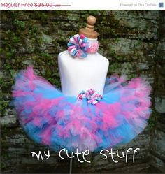 ON SALE Sweet Colors Princess Tutu and Elastic by mycutestuff
