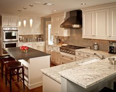 River Oaks White Kitchen By Ashley Scherch Http://www.houzz.com Design Inspirations