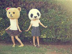 Omg. Wherrrrre can I get a panda head?! I want a panda head!!!