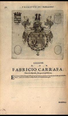 364. 1624; Fabricio Carafa, Prince of La Roccella.